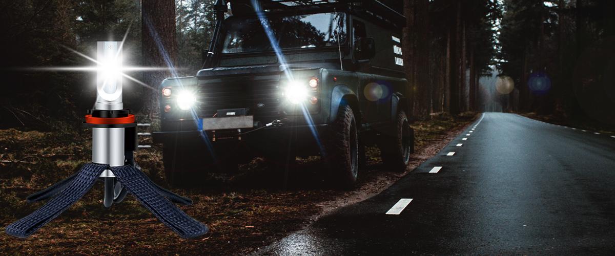 LED-Lampen für Autoscheinwerfer